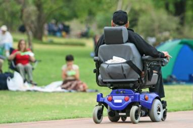 electric wheelchair users