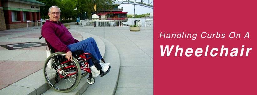 Handling Curbs On A Wheelchair
