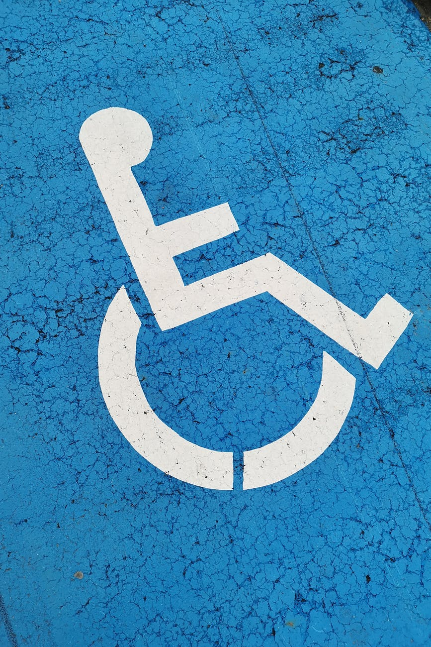 photo of pwd sign