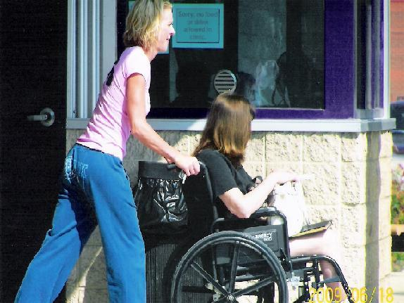 Pushing Wheelchair While Pregnant