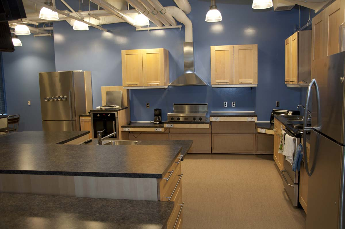 hight resolution of accessible kitchen