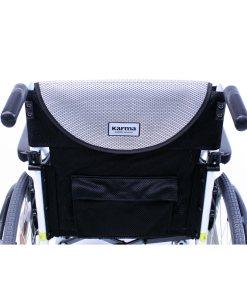 s 115 alpine white wheelchair back view