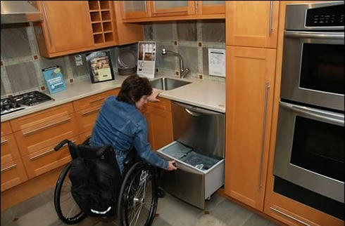 making your home wheelchair friendly