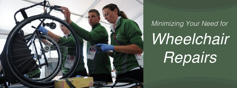 Minimizing Your Need for Wheelchair Repairs
