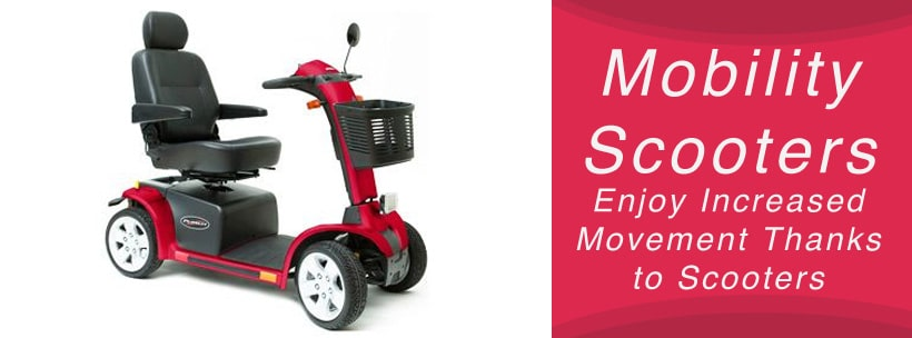 mobility scooters increases movement