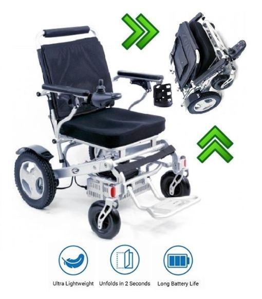 electric folding power wheelchair