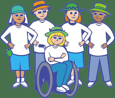 university of wheelchair users