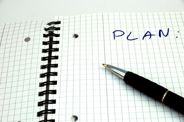 making a new plan