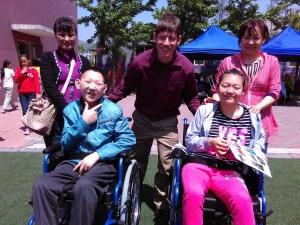 Positive Family wheelchair