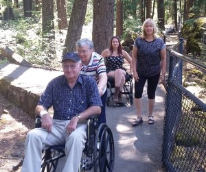 Positive Wheelchair users