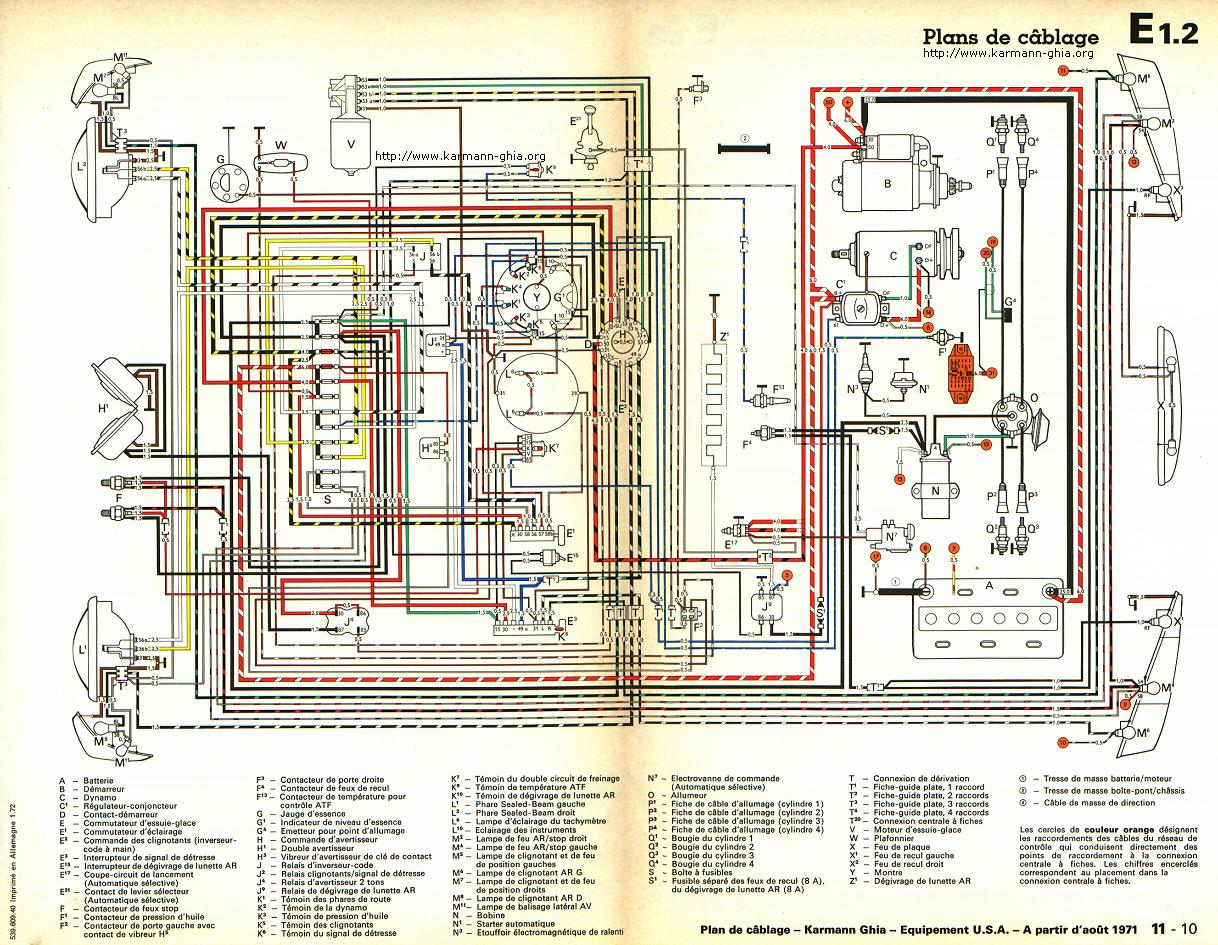1968 vw type 1 wiring diagram 7 pin trailer semi engine tin 40 hp