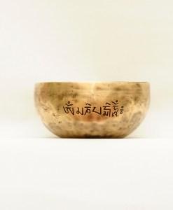 Tibetan Singing bowl Om Mani Padme Hum