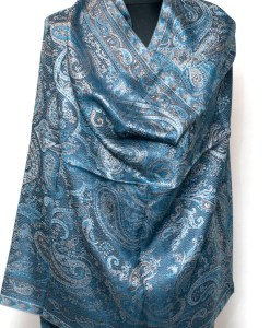 Soft Super Silk Silver Blue