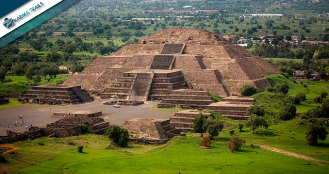 Mexico Tours - The Moon Pyramid - Teotihuacan