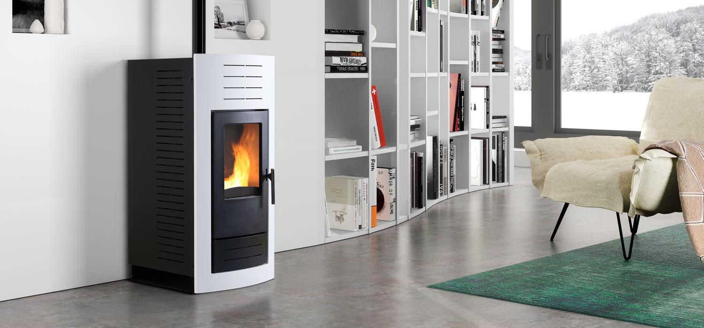 Stufe a pellet termostufe e caldaie a pellet  Karmek One