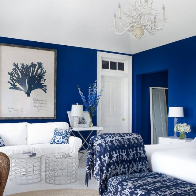 Cobalt Blue Home Decor Cooper Classics Trish 32 X45 Cobalt Blue