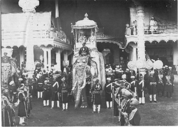 Mysore Dasara Parade. Image source mysorepalace.gov.in