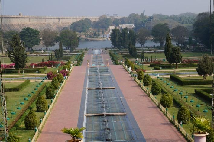 Brindavan Gardens. Copyright karnataka.com