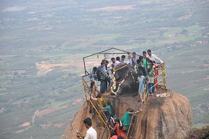 Shivagange, Basavanna