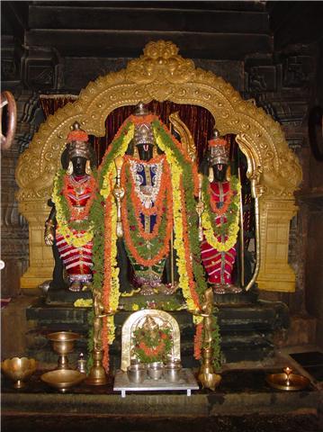 kodandarama temple, hiremagalur, hampi