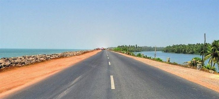 Maravanthe Beach, Udupi