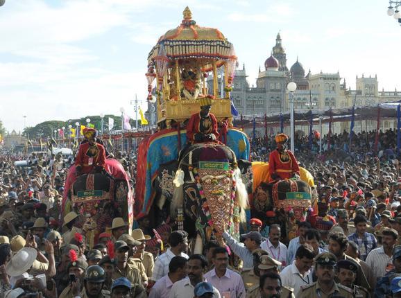 Mysore Dasara Jamboo Savari