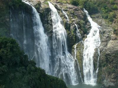 kunchikal falls, shimoga