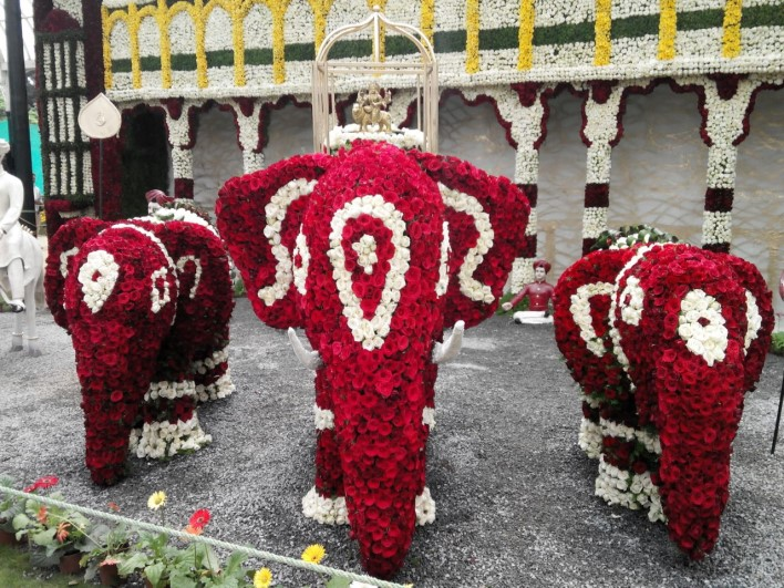 Dasara Procession, Lalbagh Flower show 2014