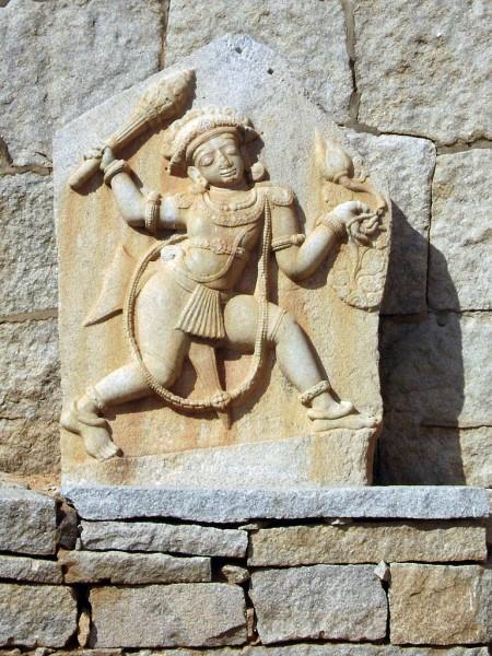 Bhima's Statue, Hampi. Photographer Dr Murali Mohan Gurram