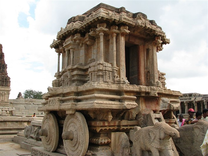 Stone Chariot at Vittala Temple, Hampi