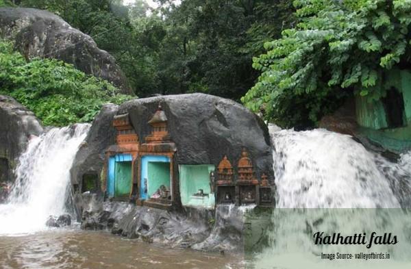 Kalhatti falls in Chikmagalur