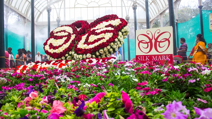 Lalbagh flower show, flower show