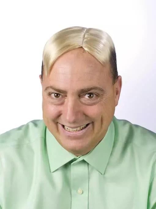 MännerToupet Blond Männer Perücke Für Karneval Und Fasching