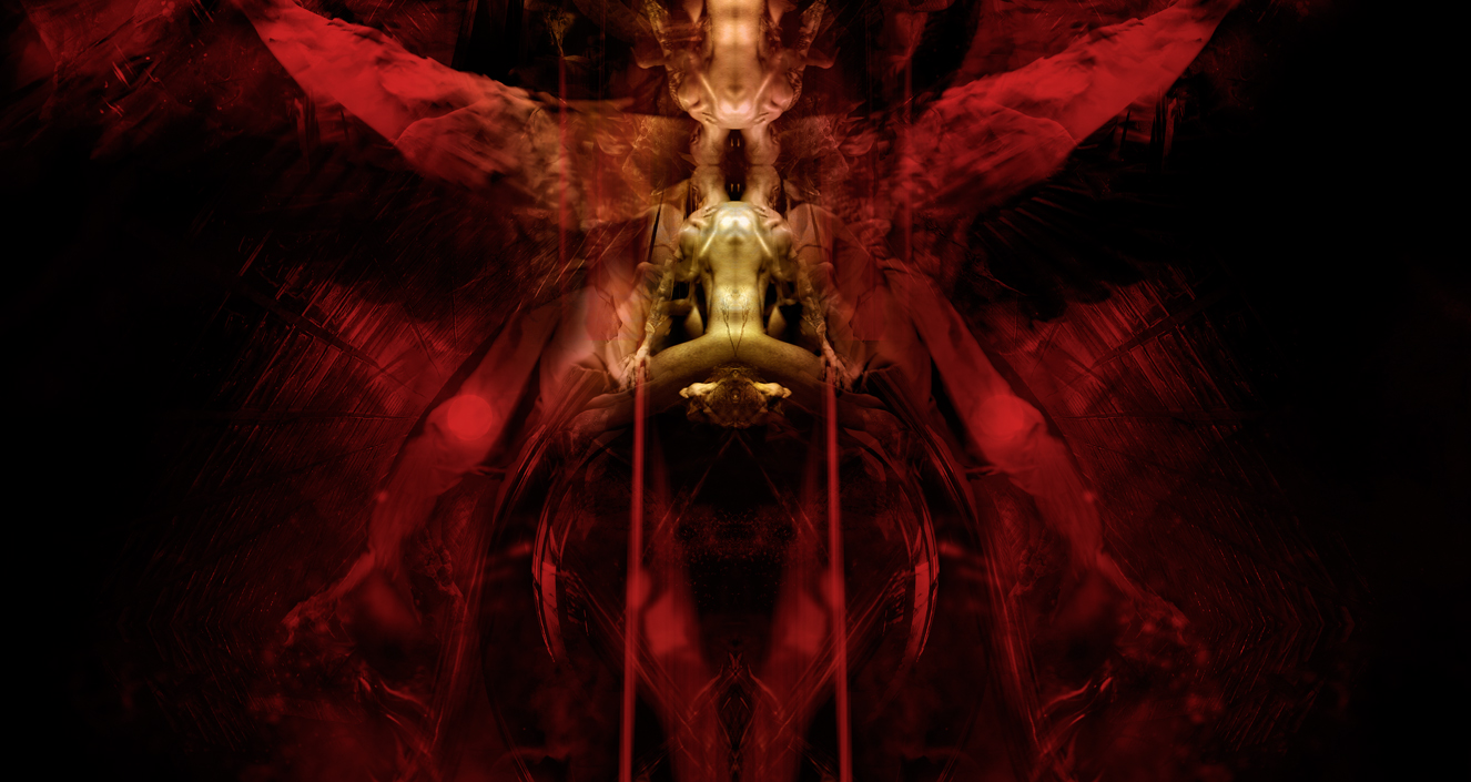 Thanatos: Prelude IV, fr.III, digital painting, 2009. Onirisme Art Illustrations.