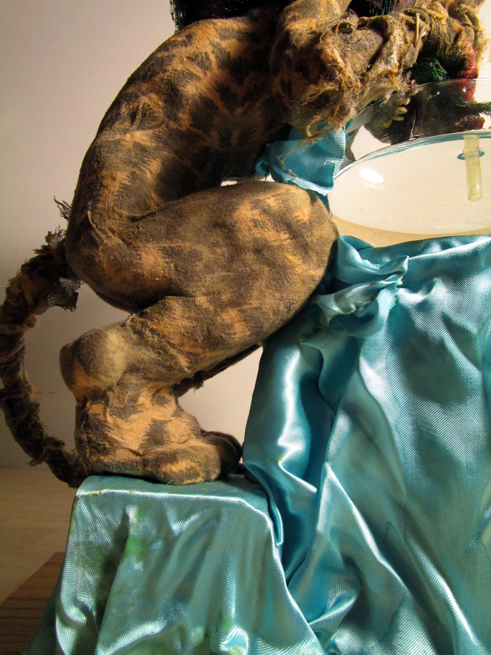 Artistic toy - the toy cat - cat toy - photo 06.