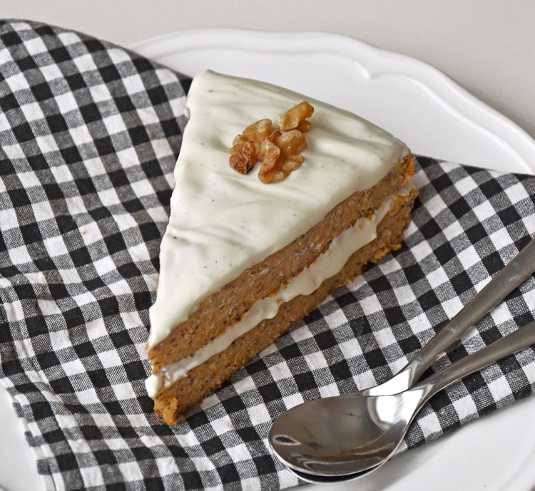 Healthy sweet potato cake