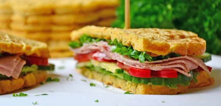 sandwich waffle