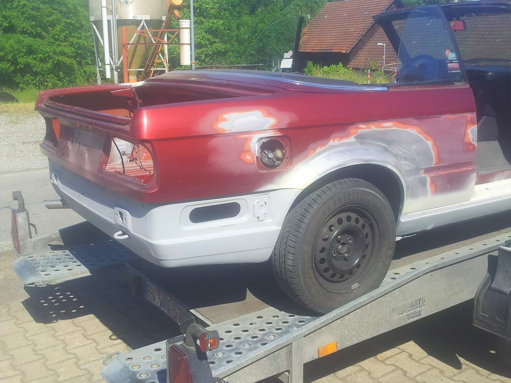 Rostbeseitigung BMW E30 Cabriolet, Karosserie Garage, Bad Saulgau