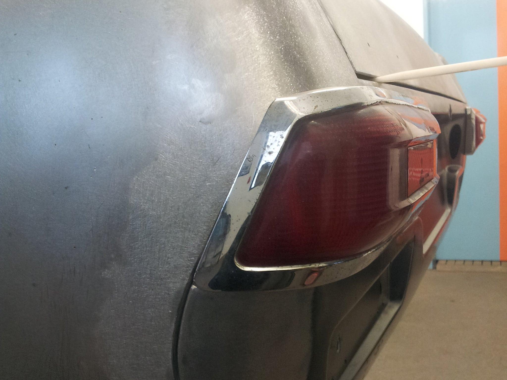 Mercedes-Benz W113 Pagode: Karosserierestauration