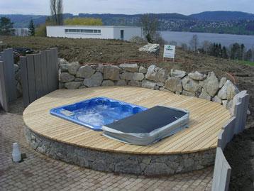 Sichtschutz Pool - Johncalle
