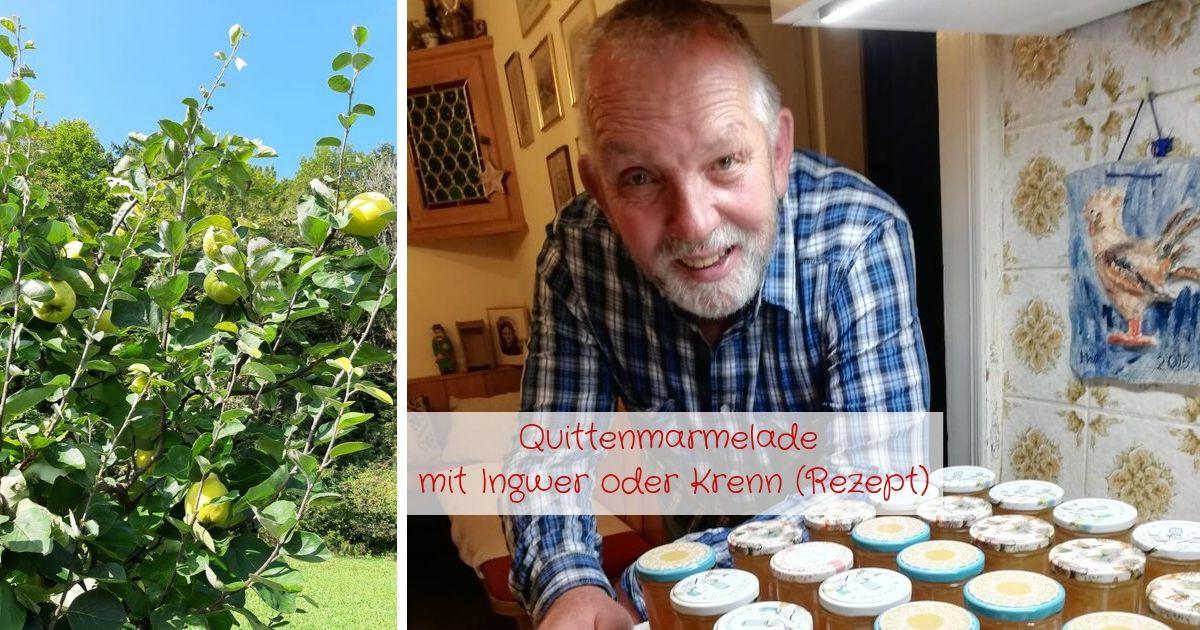 Quittenmarmelade Rezept von Luis mit Ingwer oder steirischen Krenn