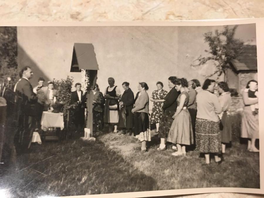 Fotos vom Klocker Kreuz 1958