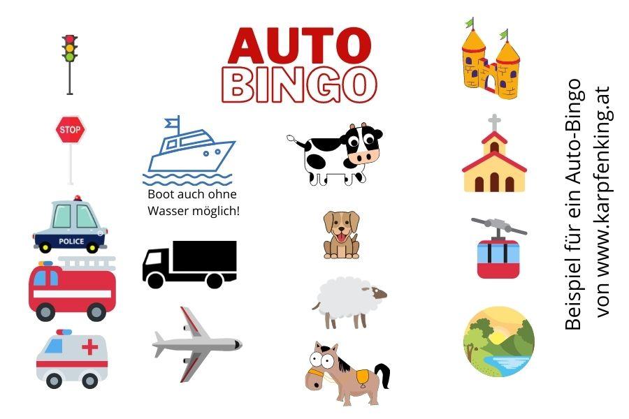 Auto-Bingo-Beispiel