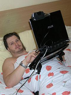 Подставка для ноутбука - механика и принцип