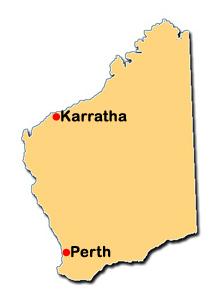 Image result for map karratha