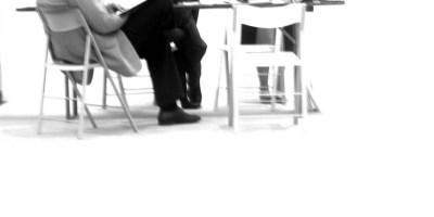 Bewerbungsgespräch. Bild: elke/photocase.de