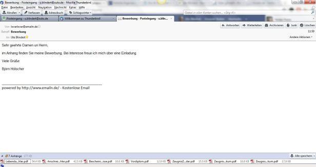 diese wie auch hasiwebde haben natrlich in einer bewerbung nichts zu suchen stattdessen empfiehlt es sich eine serise e mail adresse einzurichten - Bewerbung Adresse