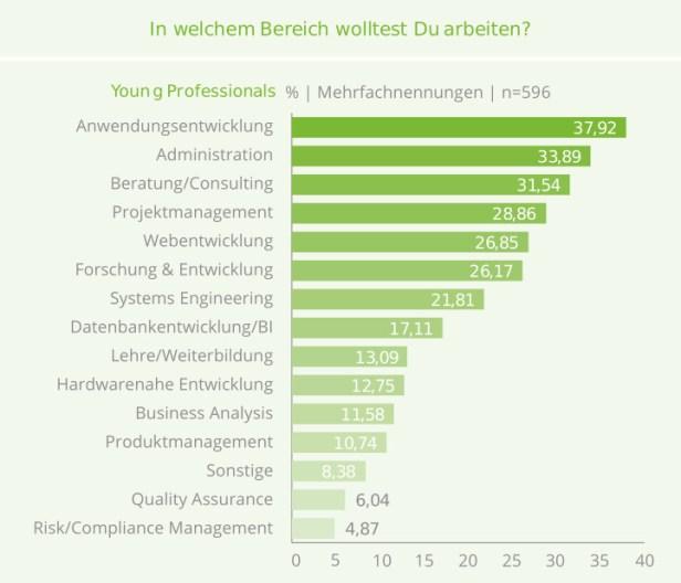 Wo möchten IT-Young Professionals arbeiten? Studie von get-in-IT und HTWK Leipzig