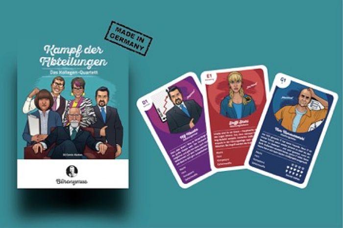 """Quartett-Spiel """"Kampf der Abteilungen"""""""