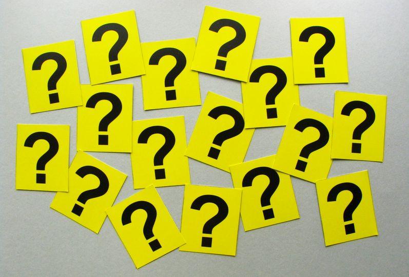 Fragen zu stellen, wenn man jemanden trifft